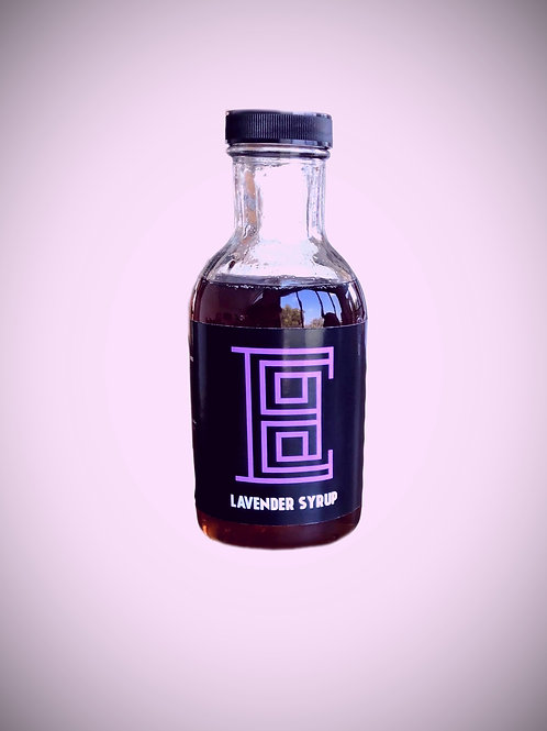House made Lavender Syrup