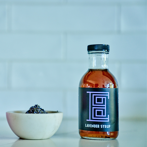Lavender Syrup -House made