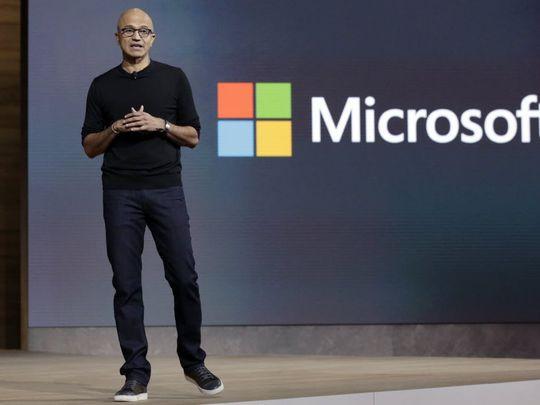 Microsoft CEO Satya Nadella.(Photo: Richard Drew, AP)