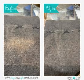 染色復元加工、Tシャツの脱色ビフォーアフター画像脱色