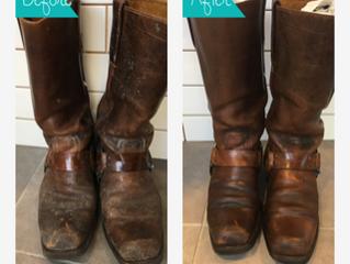 目黒区 靴・ブーツのカビ除去 クリーニングミハシ