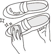 靴のみがき