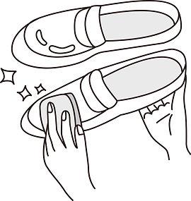 靴のみがきイメージ