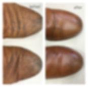 靴 カビ 丸洗い比較