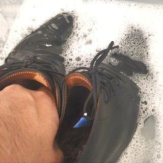 靴のクリーニング 丸洗いイメージ画像