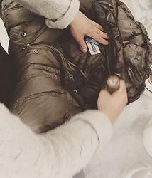 ダウンジャケットの丸洗い画像