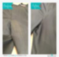 股の尿のしみ before&after その1