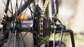 自転車・機械油のしみ抜きイメージ画像