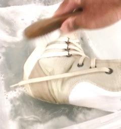 靴の丸洗いクリーニング