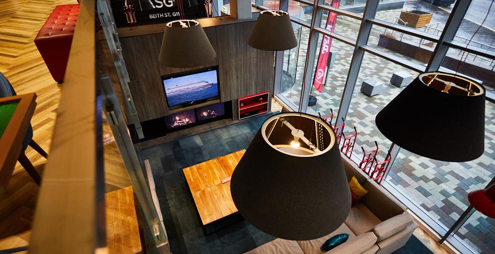 Glasgow - Sofa and TV above.jpg
