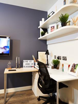 Glasgow - Studio desk and TV.jpg