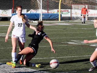 Girls Beat South; Tie for Tops in Region