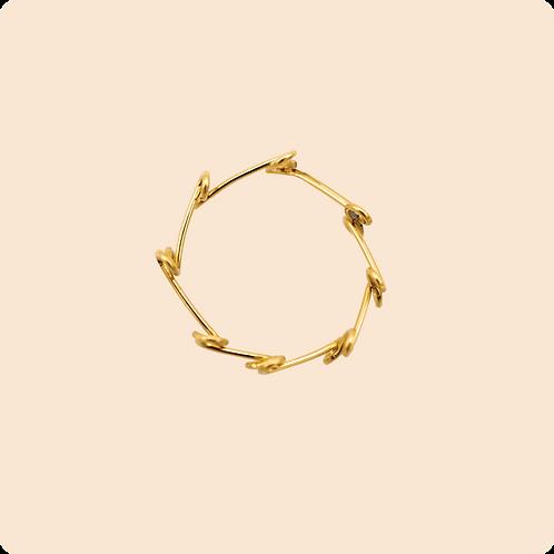 Robin Ring - Vining Wire Ring