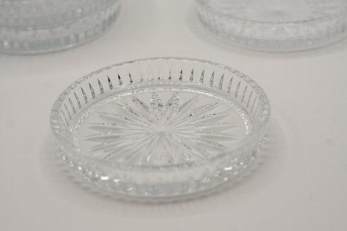 Cut Glass Coasters