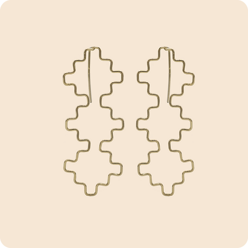 Elizabeth - Geometric Diamond threader