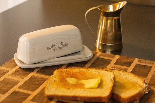 Glazed Butter Dish