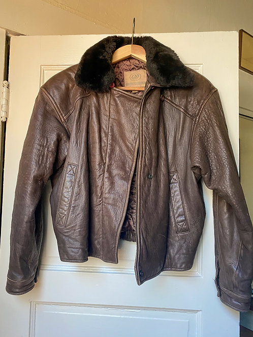 Georgetown Leather Bomber