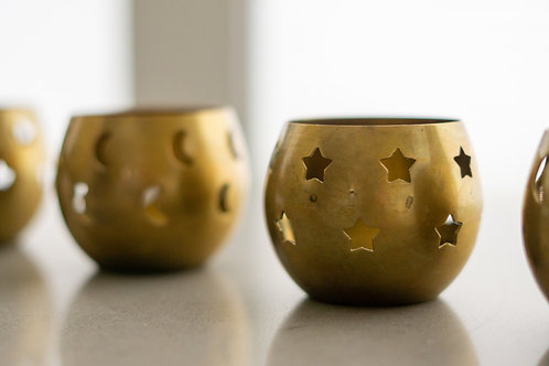 Brass Tea Light Holders