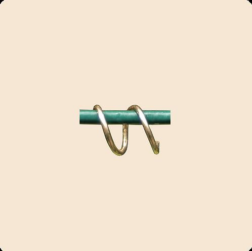 Phoebe - faux double hoop