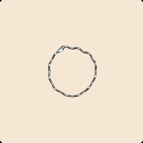 Becca Ring - zig zag ring