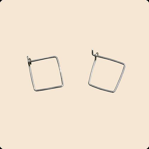 Jane - Square Minimal Hoop