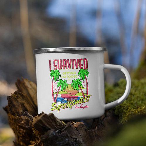 I Survived - Enamel Mug