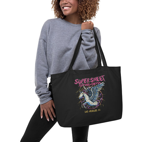 Large Size Supersweet organic tote bag