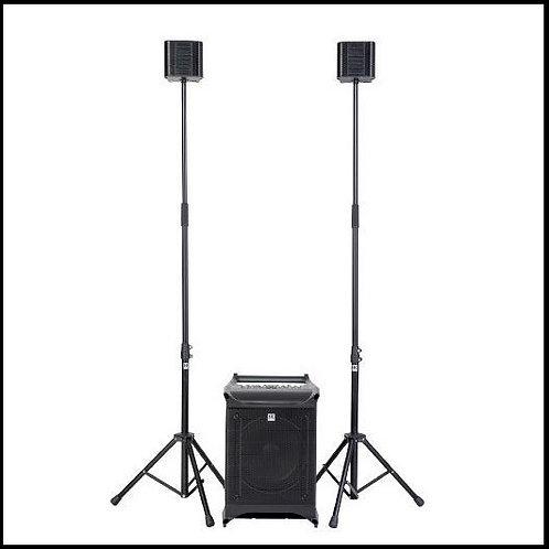 (Powered) HK Audio Lucas Nano 605FX Stereo System Set