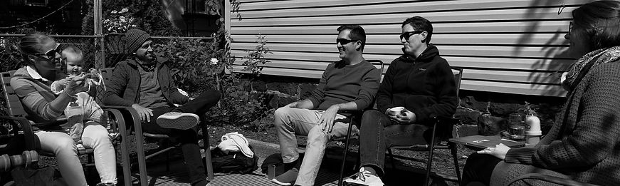 microchurch gathering outdoors