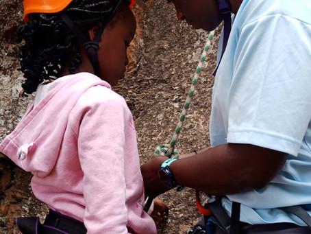 Using Rock Climbing to Connect Kids With Nature and The Outdoors