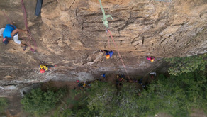 MCK Hosts Canini Beehive Kids to a Day of Rock Climbing at Lukenya