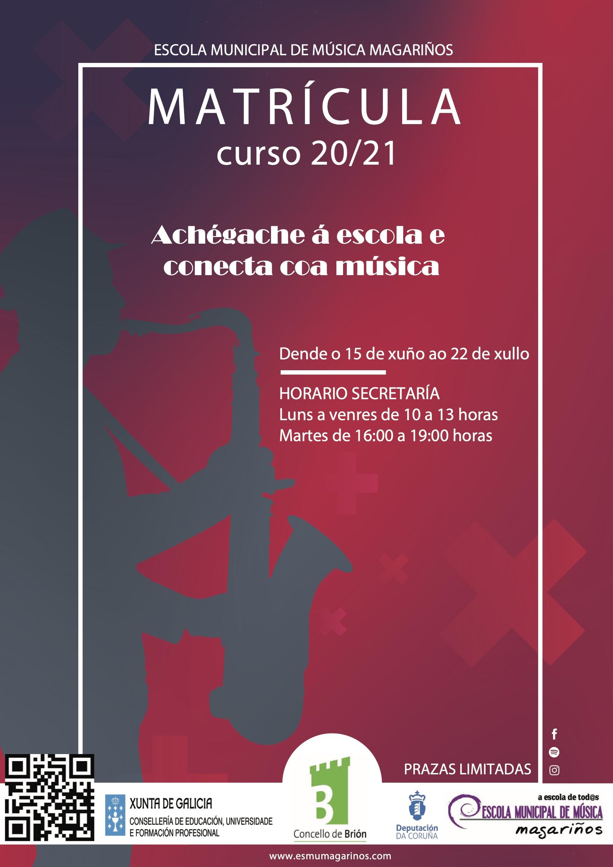 Matrícula Curso 2020/2021