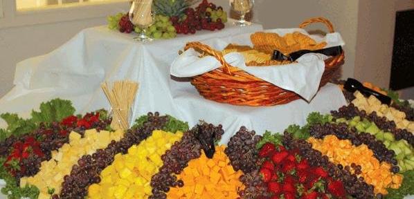 Fruit & Bread Display