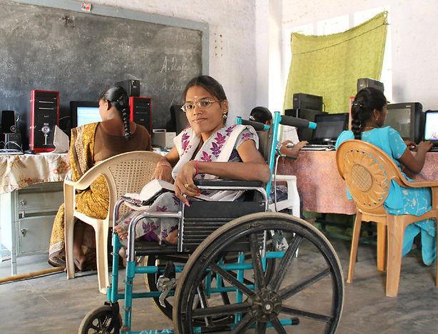 sevai enfants handicapés éducation inde OFI