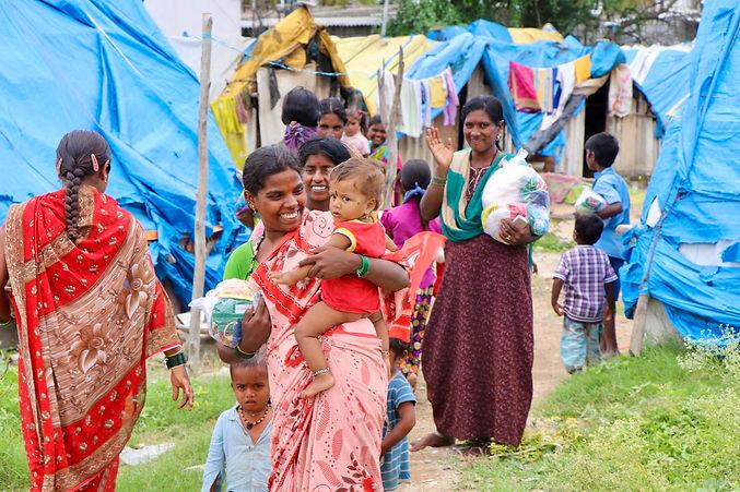 distribution d'aide alimentaire par OFI