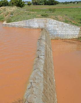 reservoir d'eau en inde réalisé par OFI
