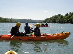 Kayaking on the River Torridge