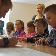 Classroom time at Skern Lodge
