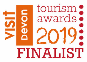 We're finalists in the Visit Devon Tourism Awards
