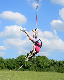 Zip Wire at Skern Lodge