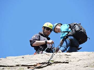 Andy - Blegberry Abseil