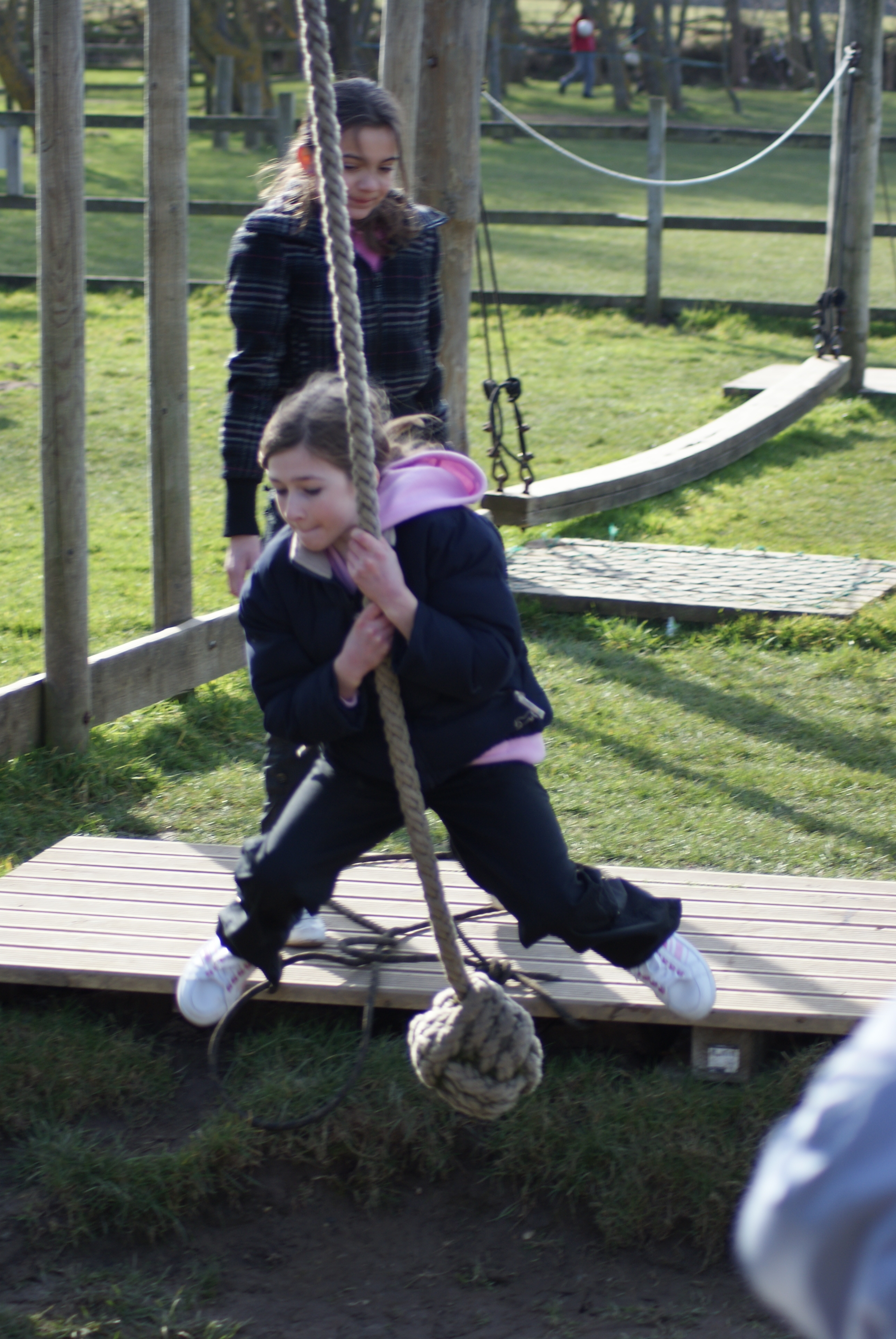 Assault Course rope swing