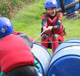 Rafting with Skern Lodge