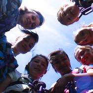 Group of girls-senior school at Skern Lodge