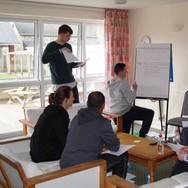 Planning sessions at Skern Lodge
