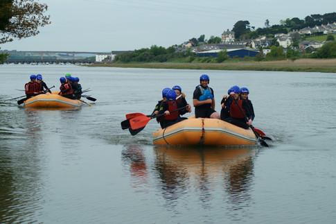 Alex - Rafting on the River Torridge