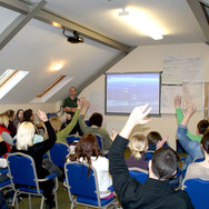 Course introduction at Skern Lodge