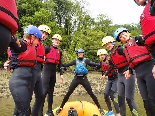 Emma - Rafting on the Torridge