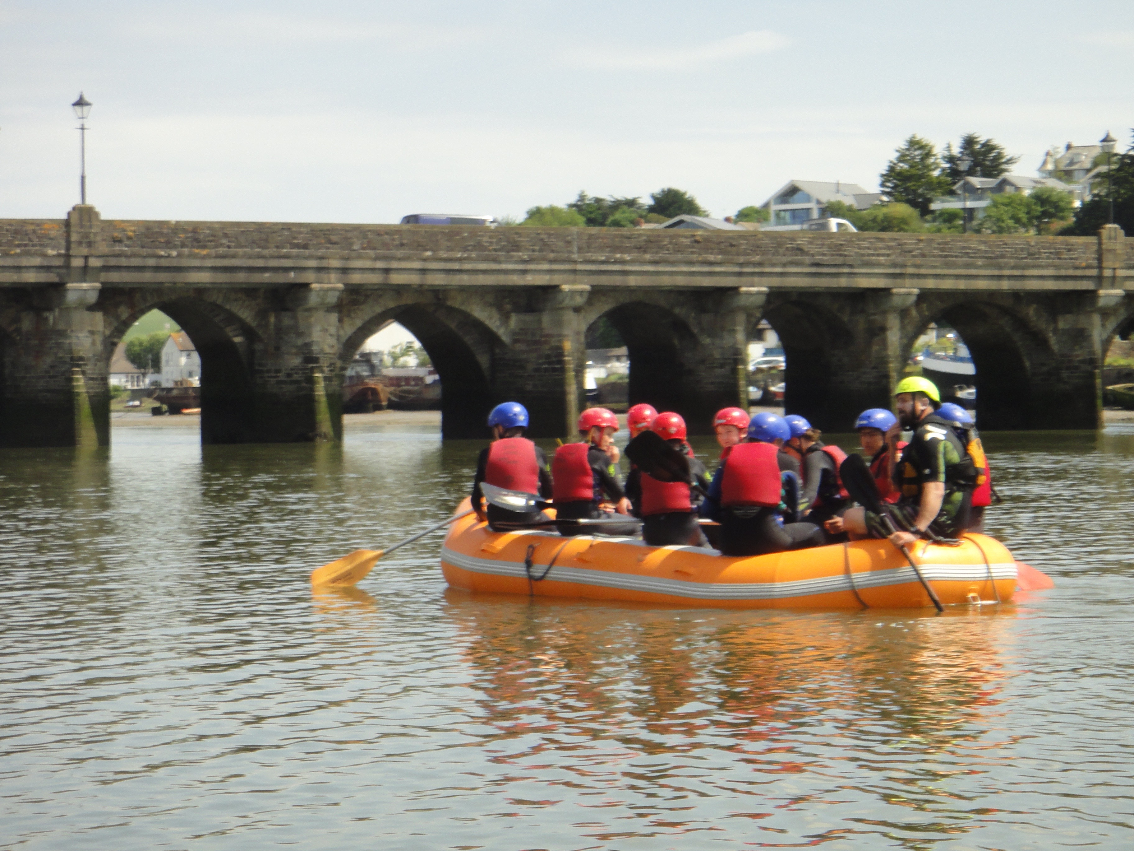 Rafting on the River Torridge