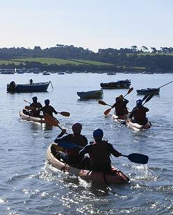 Kayaking on River Torridge